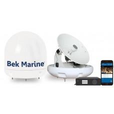 Bek Marine BDA-W34M Wifi Kontrollü Deniz Uydu TV Anteni
