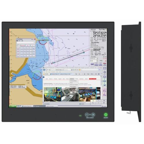 HATTELAND Display X Serisi HD 19T21 MMD Deniz Tipi Monitör